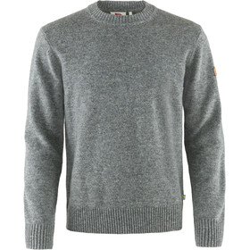 Fjällräven Övik Maglione Girocollo Uomo, grey